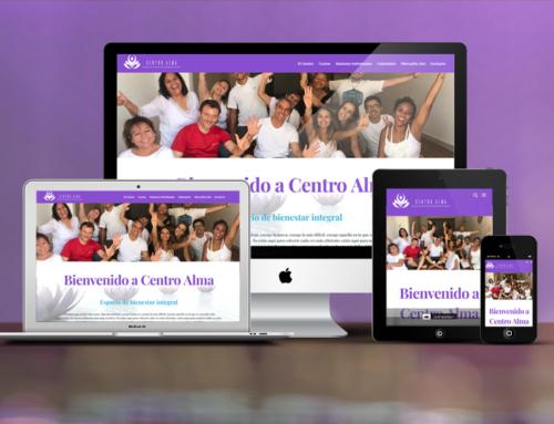 Web Centro Alma